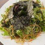 海藻チョレギサラダ