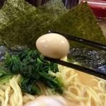 横浜家系ラーメン 中野家 - ウズラの卵
