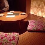 茶茶白雨 - 店内(禁煙席)
