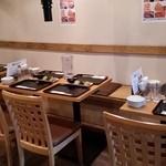 永秀 - スタンバイOKのテーブル