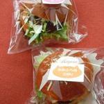 35390370 - かみふらのポークのハンバーガー 2種類