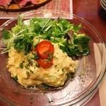 ファイアーワークス - カレー風味の手作りポテトサラダ400円+税