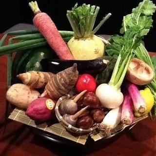 オススメ食材の野菜かご♪