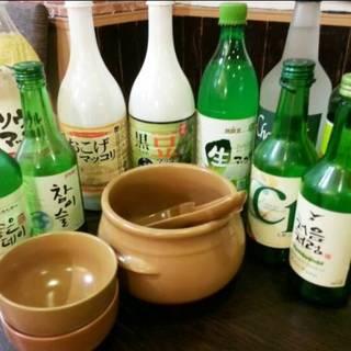 韓国のお酒といえば・・・