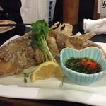 35394363 - 一番のおすすめ‼️  甘鯛の唐揚げ                       美味しかった