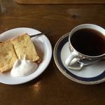 喫茶去 - シフォンケーキ/コーヒー(セット+280円)