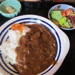長尾 - 料理写真:牛筋カレー