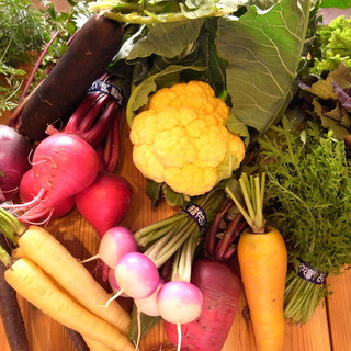 野菜にこだわる