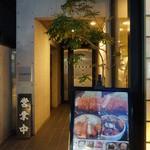 とんかつ武信 - お店は代々木上原駅から歩いて4、5分。