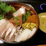 海食 浜勝 - うに海食丼2000円♪