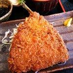三陸 - 郷土料理 三陸 三陸定食 A アジフライ アップ