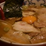 どんたく - バラ肉そば(とんこつ醤油スープ)