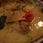 どんたく - バラ肉そば(博多スタミナスープ)