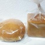 さくら・さくら - クリームメロンパン140円 キューブ何とか150円