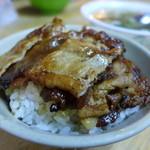 阿霞 燒肉飯 - 焼肉飯(高雄産豚肩ロース・TWD40)