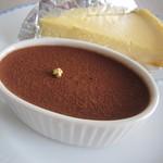 ララハウス - チーズタルト&チョコムース♪