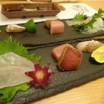 葉四季 - お刺身5種