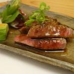 葉四季 - 佐賀牛のマルシンステーキ フォアグラソース