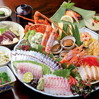 天然活〆土佐名物!皿鉢(さわち)料理