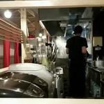 麺屋台 横綱家 - 厨房
