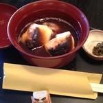 甘味処 満喜 - 14/11/15 おしるこ