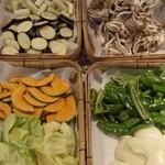すすめ!ヴァイキング - 季節ごとに替わる焼野菜