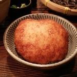 手打古式蕎麦 - 山揚げ