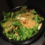 35409249 - サラダもシャキシャキで美味しかった。