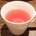 赤坂七丁目カフェ - 黒トリュフのふわとろ!!オムライス 500円 のハーブティー