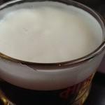 35410385 - 生ビールの泡