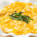 大名繁 - ふわふわの卵と、新鮮なにらがマッチsうぃている『ふわふわにら玉』。