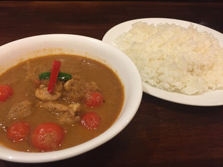 curry 草枕 - トマトチキンカレー
