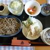 蕎麦キッチン ぶれのわ - 料理写真:ぶれのあセット(そば増量)1200円