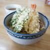 松屋 - 料理写真:天ぷらそば(冷がけ)