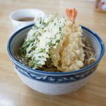 松屋 - 天ぷらそば(冷がけ)