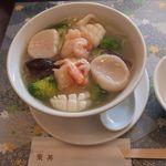 広州名菜 聚英 - 三鮮湯麺。