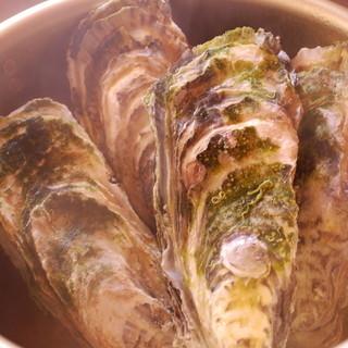★牡蠣のガンガン焼き