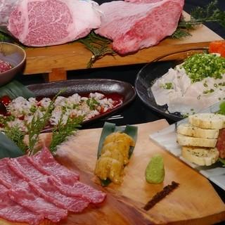 全てのお肉を生で食べてもらえる自信の品質!