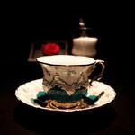 カフェ セレーサ - エレガントな色遣いと細工☆