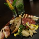 エゾバルバンバン - 前菜盛り合わせ
