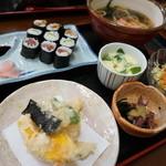 福寿司 - 巻き寿司セット1080円