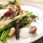 季節野菜のエチュベ