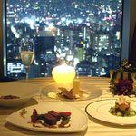 エノテーカ ピンキオーリ - 記念日を2日前迄に予約でデザート時にアニバーサリーケーキを♪