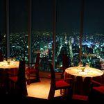 エノテーカ ピンキオーリ - ミッドランドスクエア42Fから名古屋の夜景を眺め最高級のイタリア料理を楽しむ