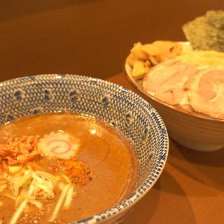 特製海老つけ麺