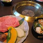 丸明 - A4の飛騨牛ステーキ