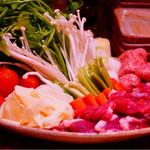 とり喜 - 鴨鍋