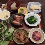 つくば食堂 花 - 大地のお膳(2/27)