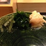 35429527 - 海ぶどう ワカメ ガリ