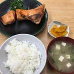 葛西橋 - 鮭カマ定食☆